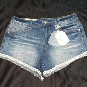 NWT Altar'd State, distressed shorts size 26 waist